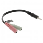 AD-JACK-AUDIO-STEREO M/FF-CABLE