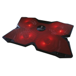 Support ventilé pour ordinateur portable Niflheim rouge Berserker Gaming