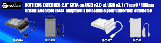 ADAPTATEUR MINI DISPLAYPORT-HDMI/DVI/DISPLAYPORT