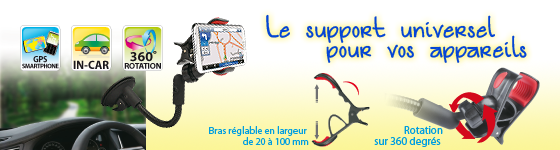 SUPPORT UNIVERSEL DE VOITURE